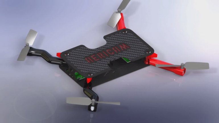 Μη επανδρωμένο αεροσκάφος... τσέπης κατασκευάζει η AeriCam