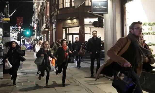 Ανακρίνονται δύο άνδρες για το χάος στο μετρό του Λονδίνου