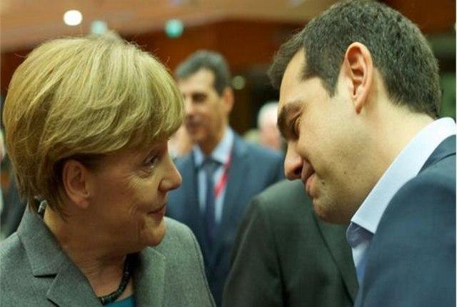 Ελληνογερμανικό φλερτ, ο Τσίπρας στην «αγκαλιά» της Μέρκελ