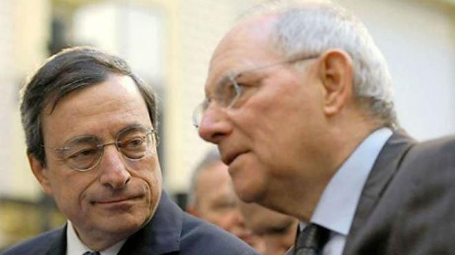 Εμμεσο μήνυμα Σόιμπλε: «Το ευρώ είναι πολύ βαρύ για την Ελλάδα»