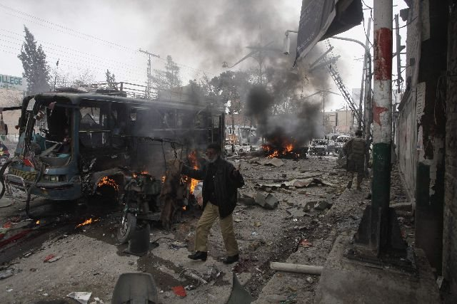 Πακιστάν: Στους 37 ανήλθαν οι νεκροί από την διπλή επίθεση σε κεντρική αγορά