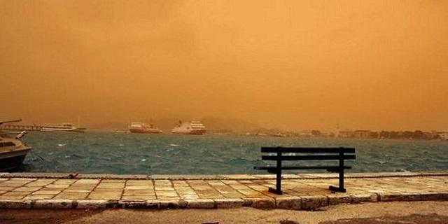 Τοπικές βροχές και αφρικανική σκόνη