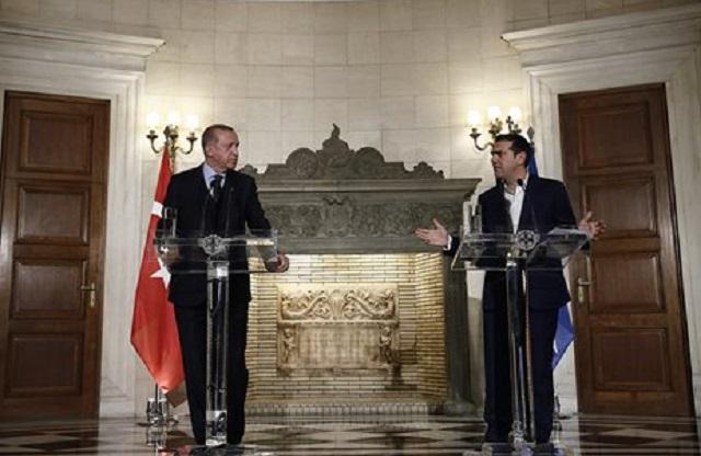 Μαξίμου: Τι συμφώνησαν Τσίπρας - Ερντογάν