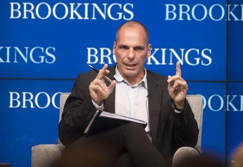 Βαρουφάκης: Η τρομοκρατία πηγάζει από τους δανειστές